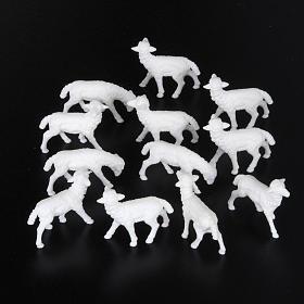 Sheep cm 8-10, 12 pcs set nativity figurines s2