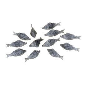 Fische Konfektion zu 12 Stück für DIY-Krippe s1
