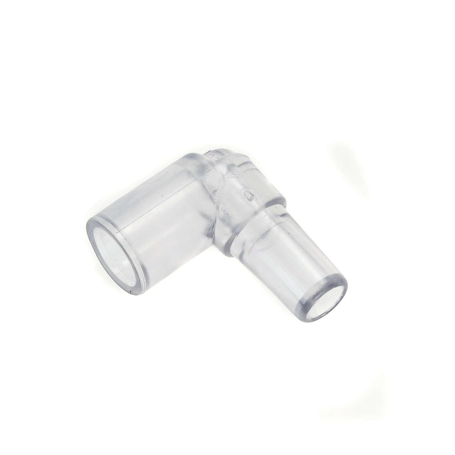 Pompa acqua presepe: raccordo per tubo a curva 4