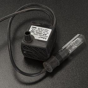 Pompe à eau 5W avec lumière pour crèche Noel s3