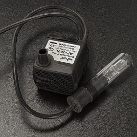 Pompa acqua presepe 5W con luce s3
