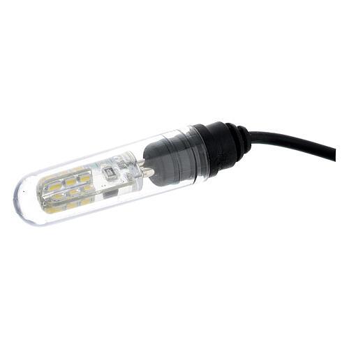 Pompa acqua presepe 3W con luce 4