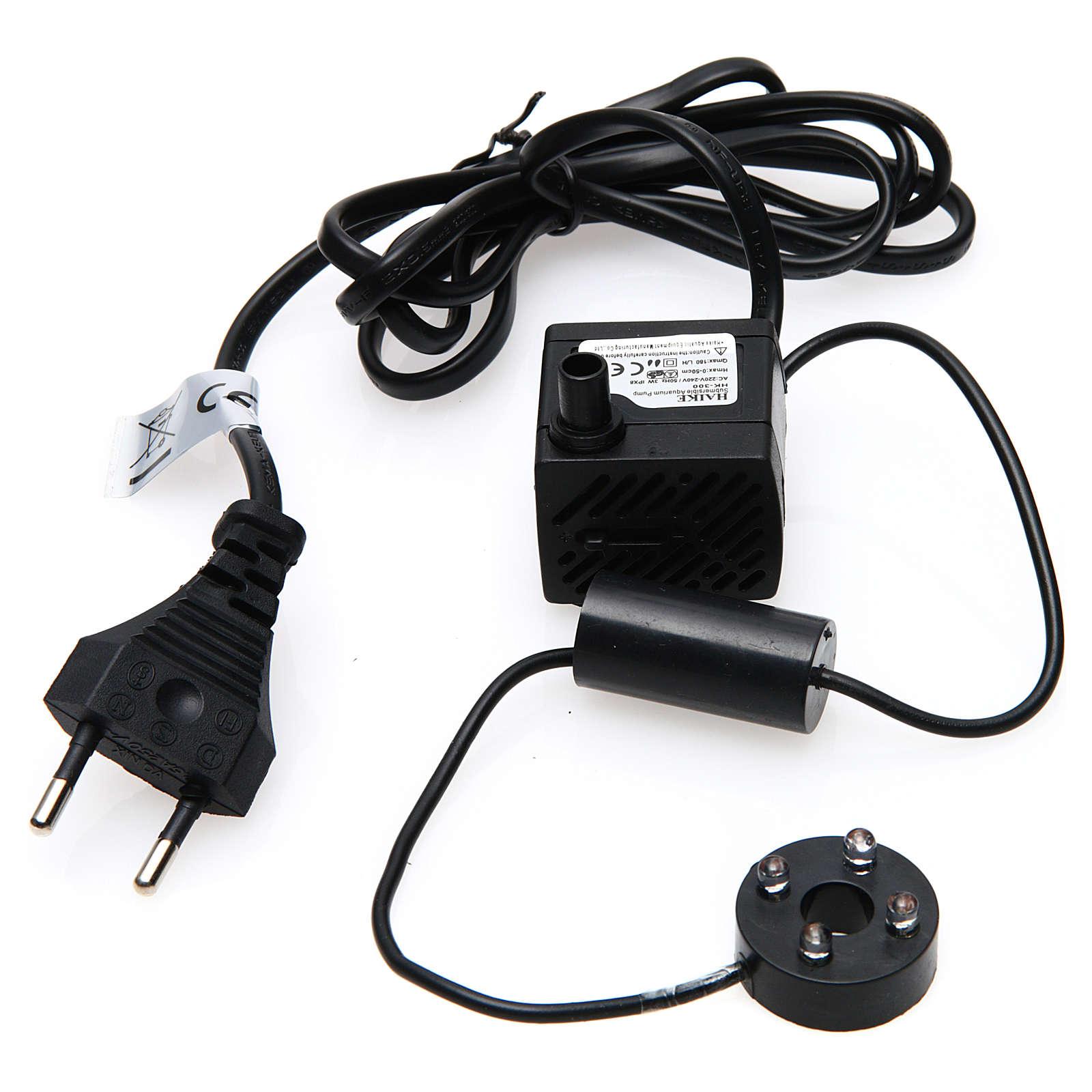 Wasserpumpe 2W für Krippe und Led-Lichter HK-300 4