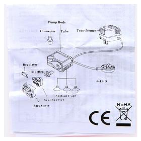 Wasserpumpe 2W für Krippe und Led-Lichter HK-300 s5