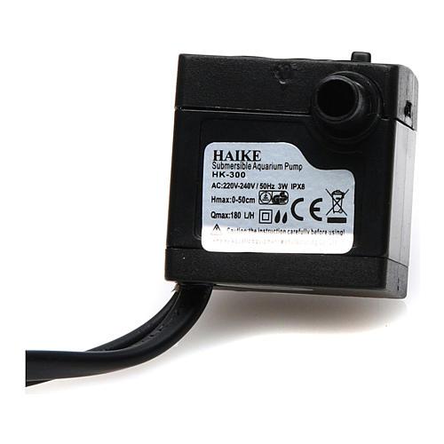 Wasserpumpe 2W für Krippe und Led-Lichter HK-300 3