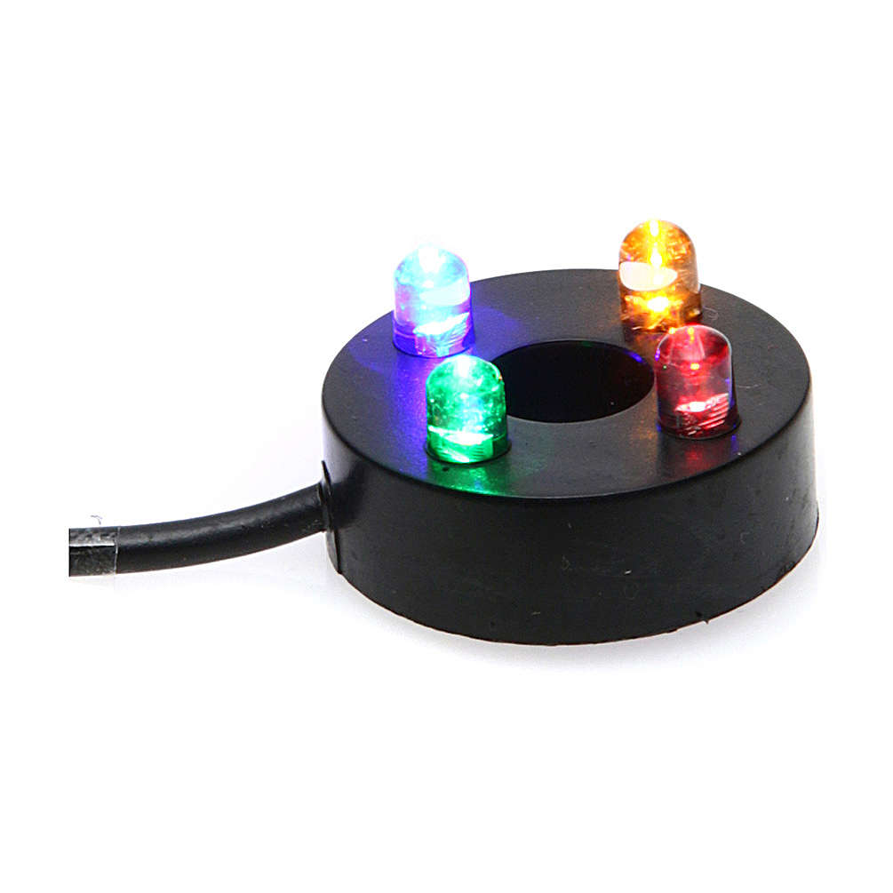 Nativity accessory, water pump with colored leds HK-300 4