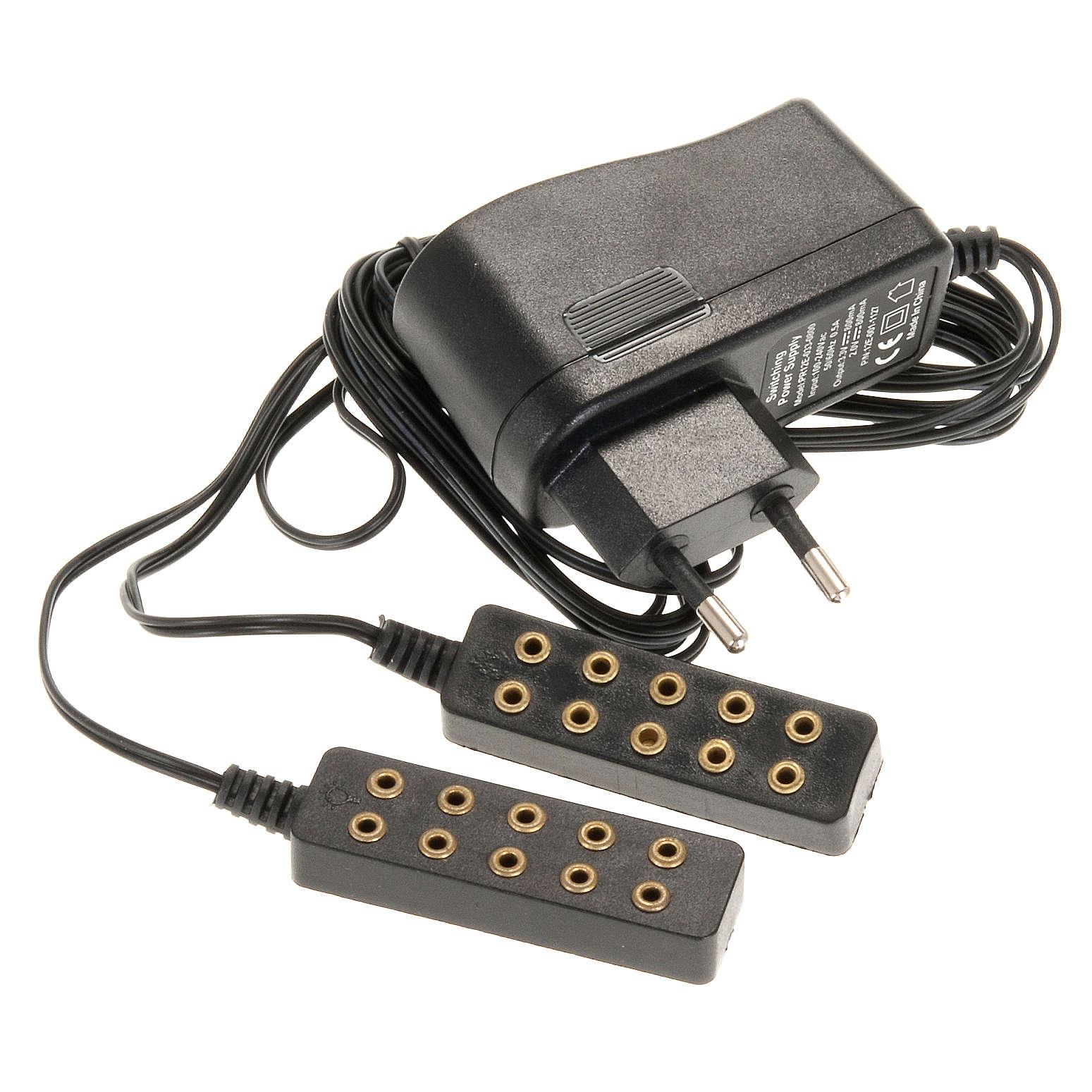 Transformador eléctrico 5 + 5 4