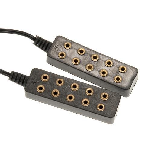 Transformador eléctrico 5 + 5 2