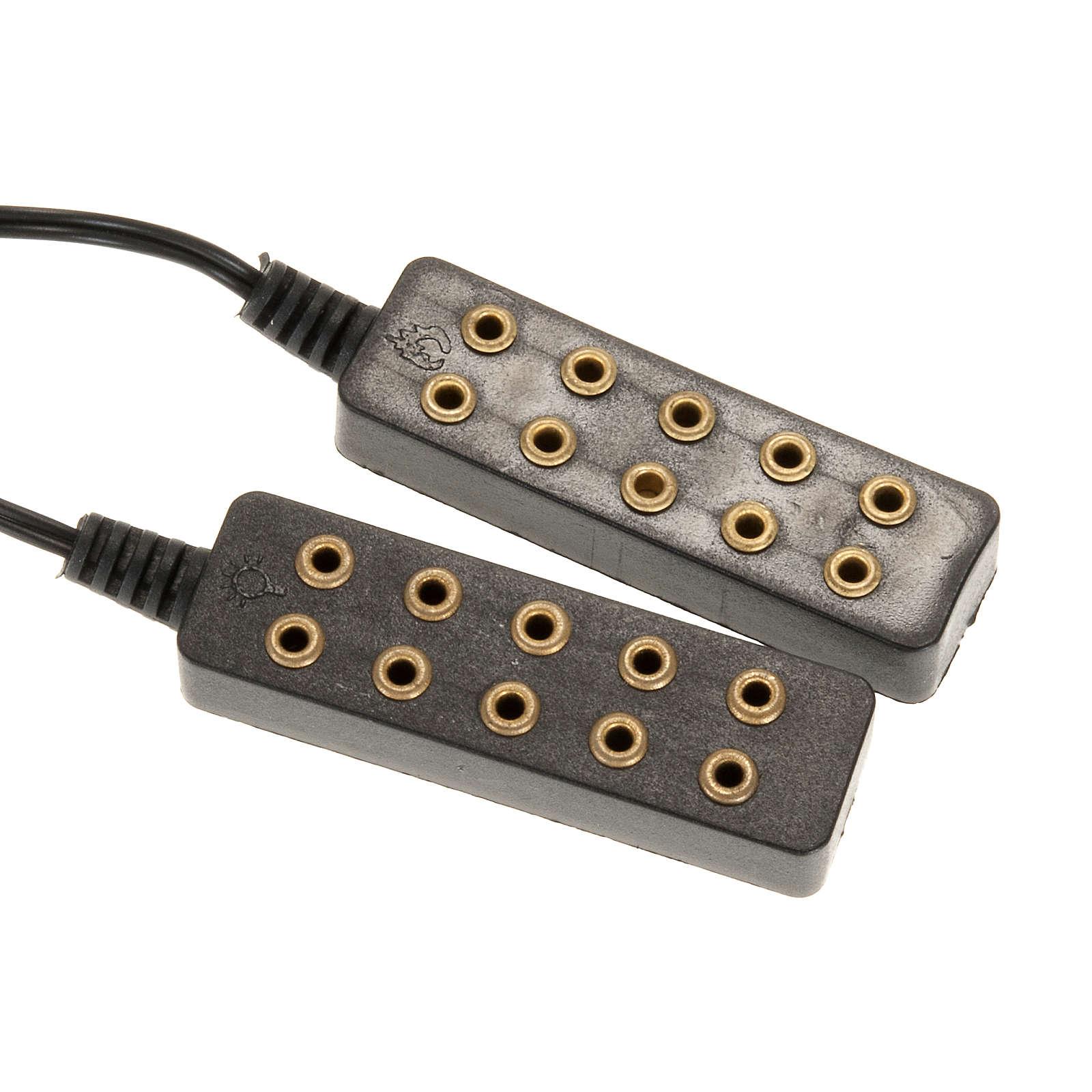 Trasformatore di corrente 5+5 4