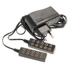 Luzes e Lamparinas para o Presépio: Transformador de corrente 5+5