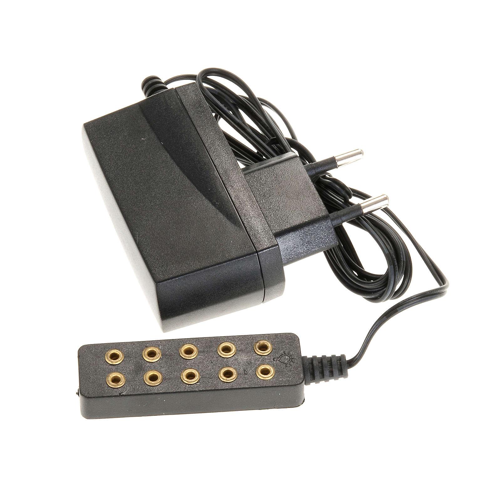 Transformador de corrente 5 tomadas luz fixa 4