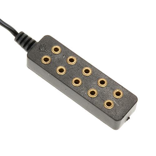 Transformador de corrente 5 tomadas luz fixa 2