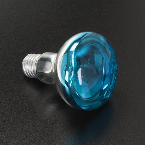 Lampara belén E 27 azul 220v 60w 2