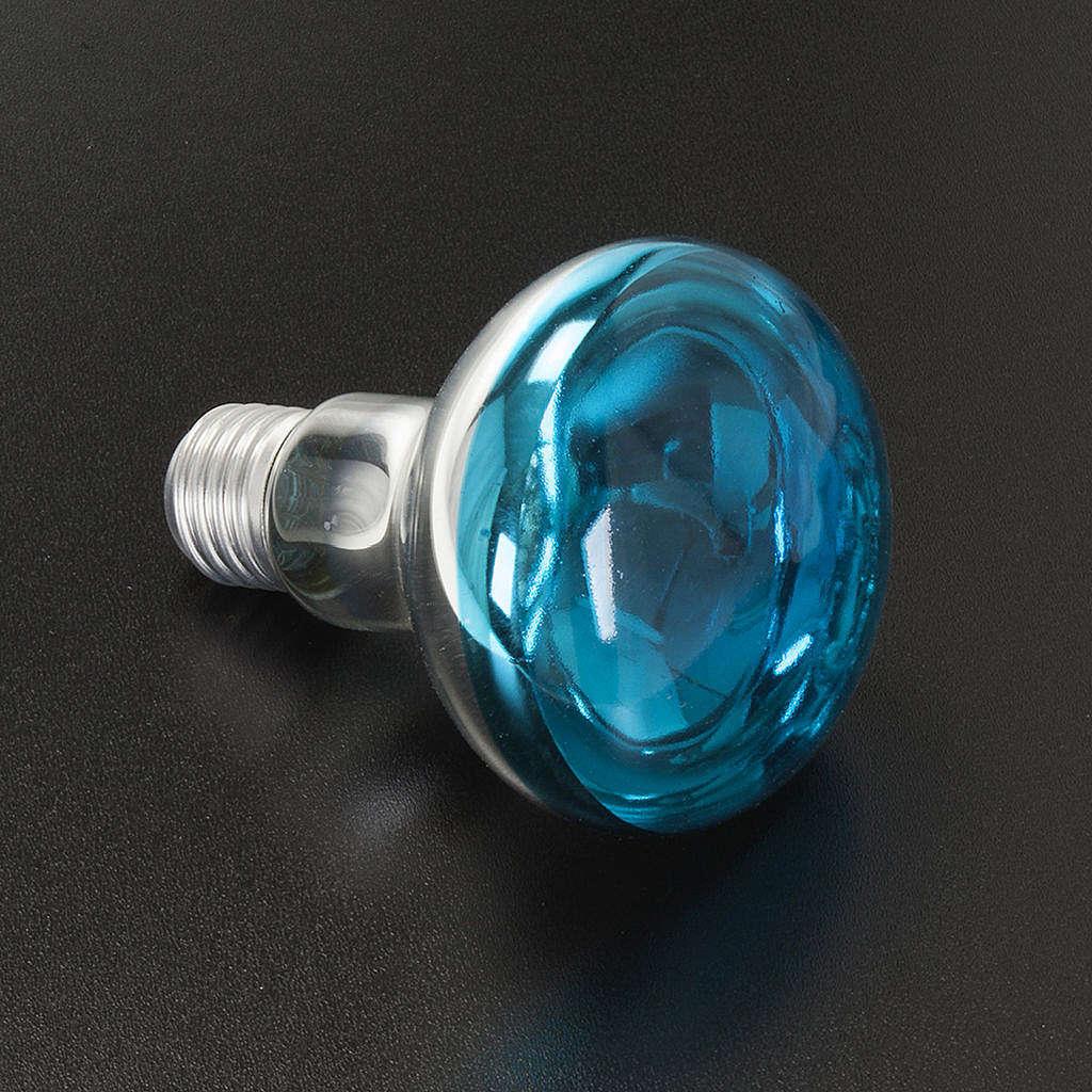 Lampada presepe E27 blu 220v 60w 4