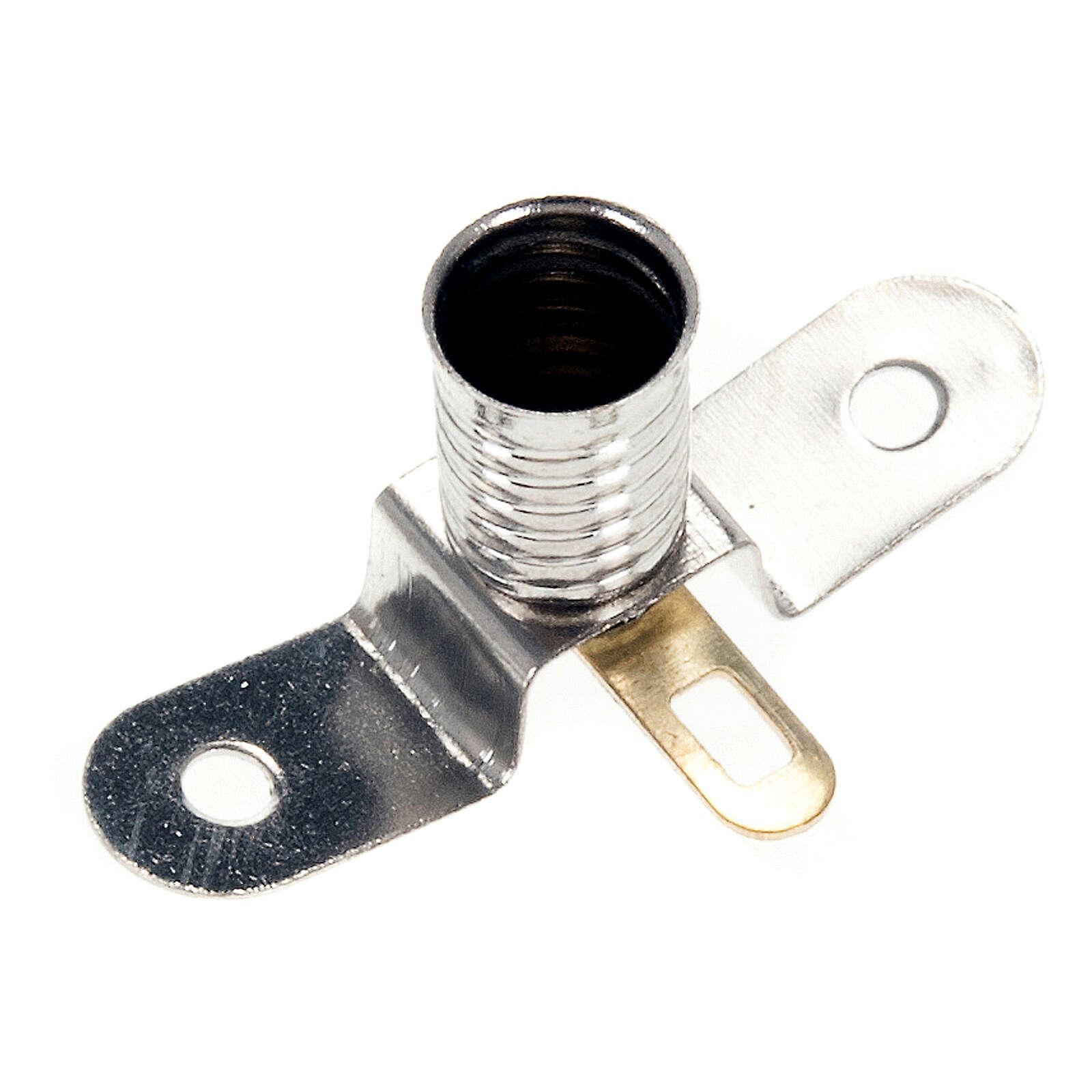 Lampenfassung E5,5 3V für Krippe 4