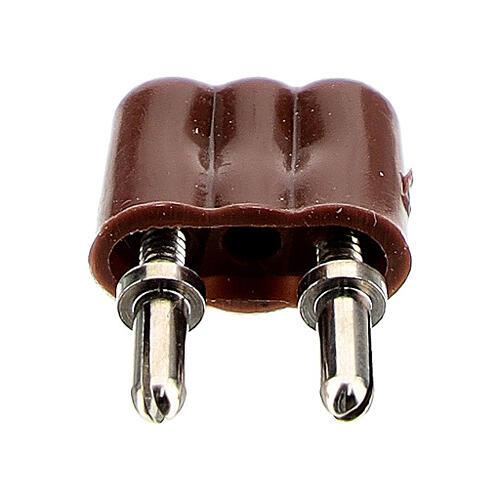 Anschlussstecker für Krippenlichter 3.5 und 4.5v 1