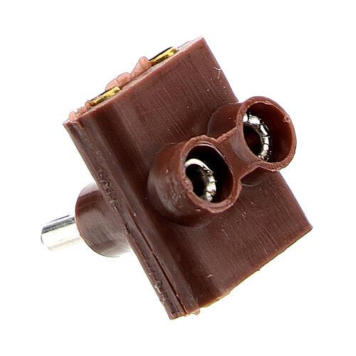 3er-Anschluss für Krippenlichter 3.5 und 4.5v 4
