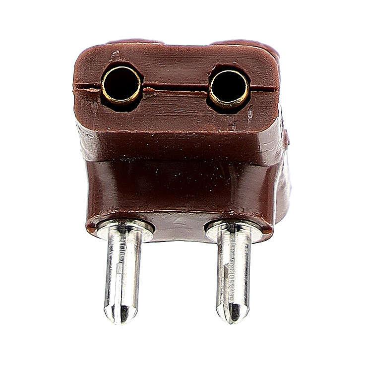 Multiprise électrique triple bas voltage 3,5 et 4,5v 4