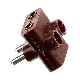Multiprise électrique triple bas voltage 3,5 et 4,5v s2