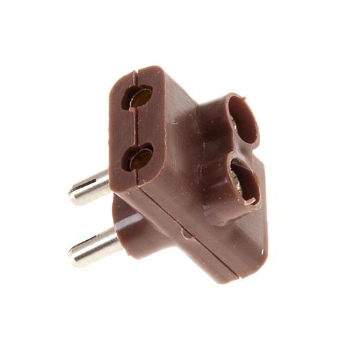Multiprise électrique triple bas voltage 3,5 et 4,5v 1