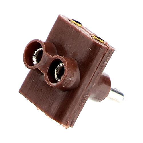 Multiprise électrique triple bas voltage 3,5 et 4,5v 3