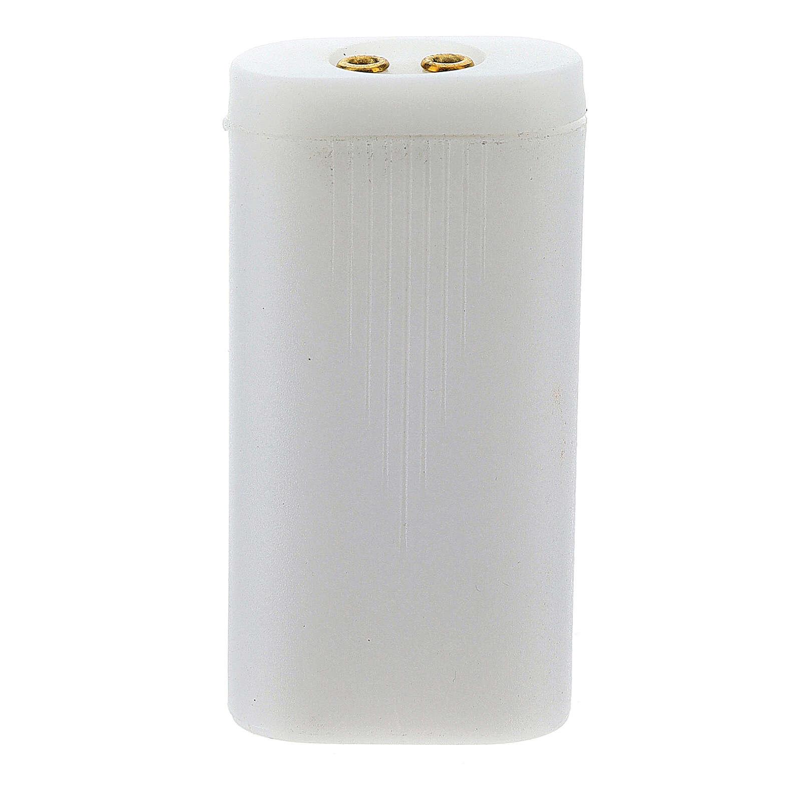 Porta baterías AA para luces belén 4