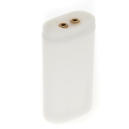 Portabatterie stilo per luci presepe 1