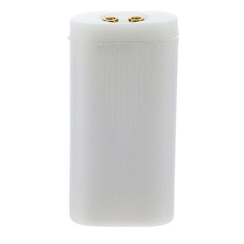 Suporte de pilhas para luzes presépio 1