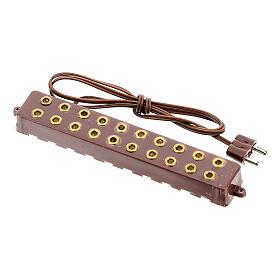 Socle 10 prises électriques bas voltage 3,5/4,5v s3