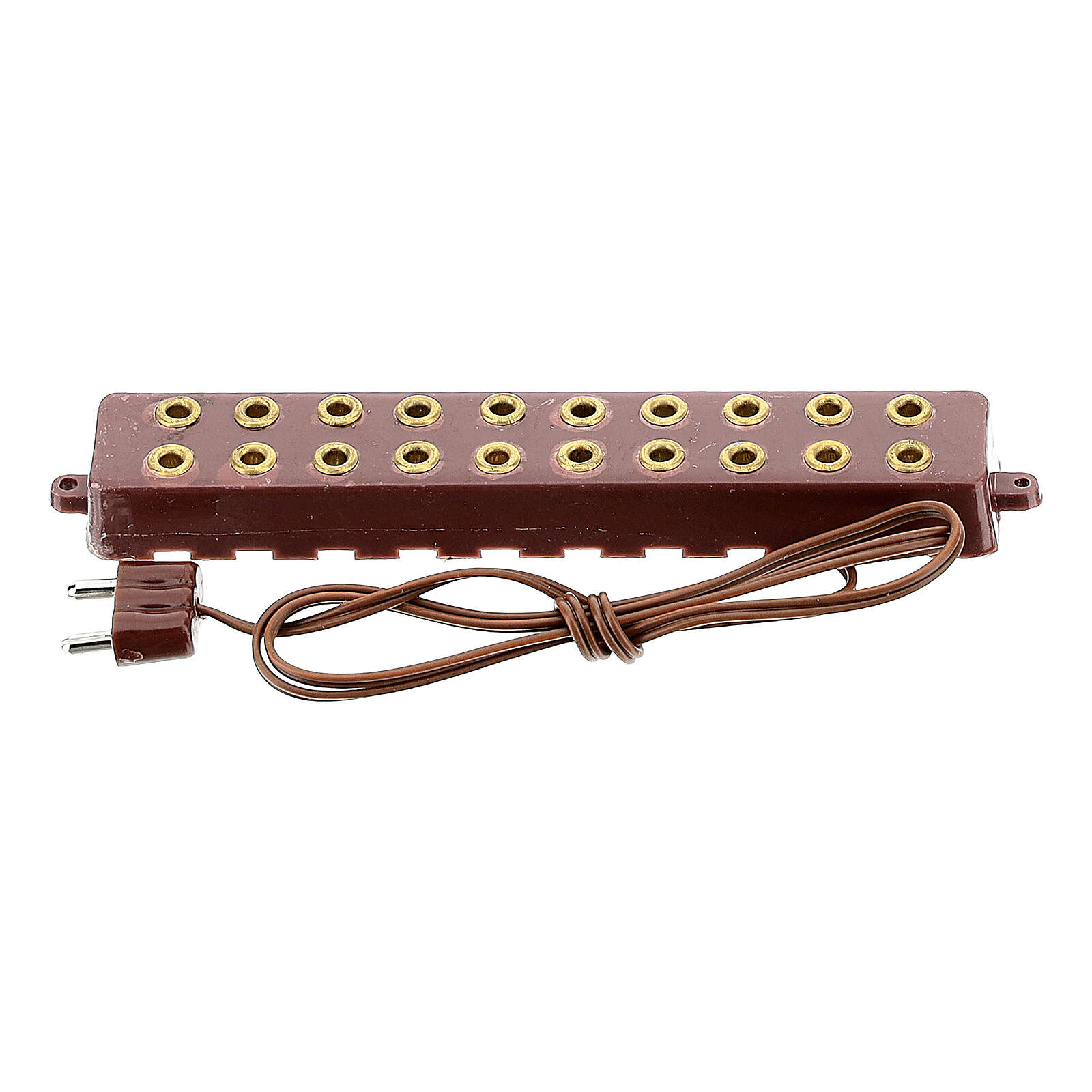 Multiple socket with 10 slots for 3.5 and 4.5V 4