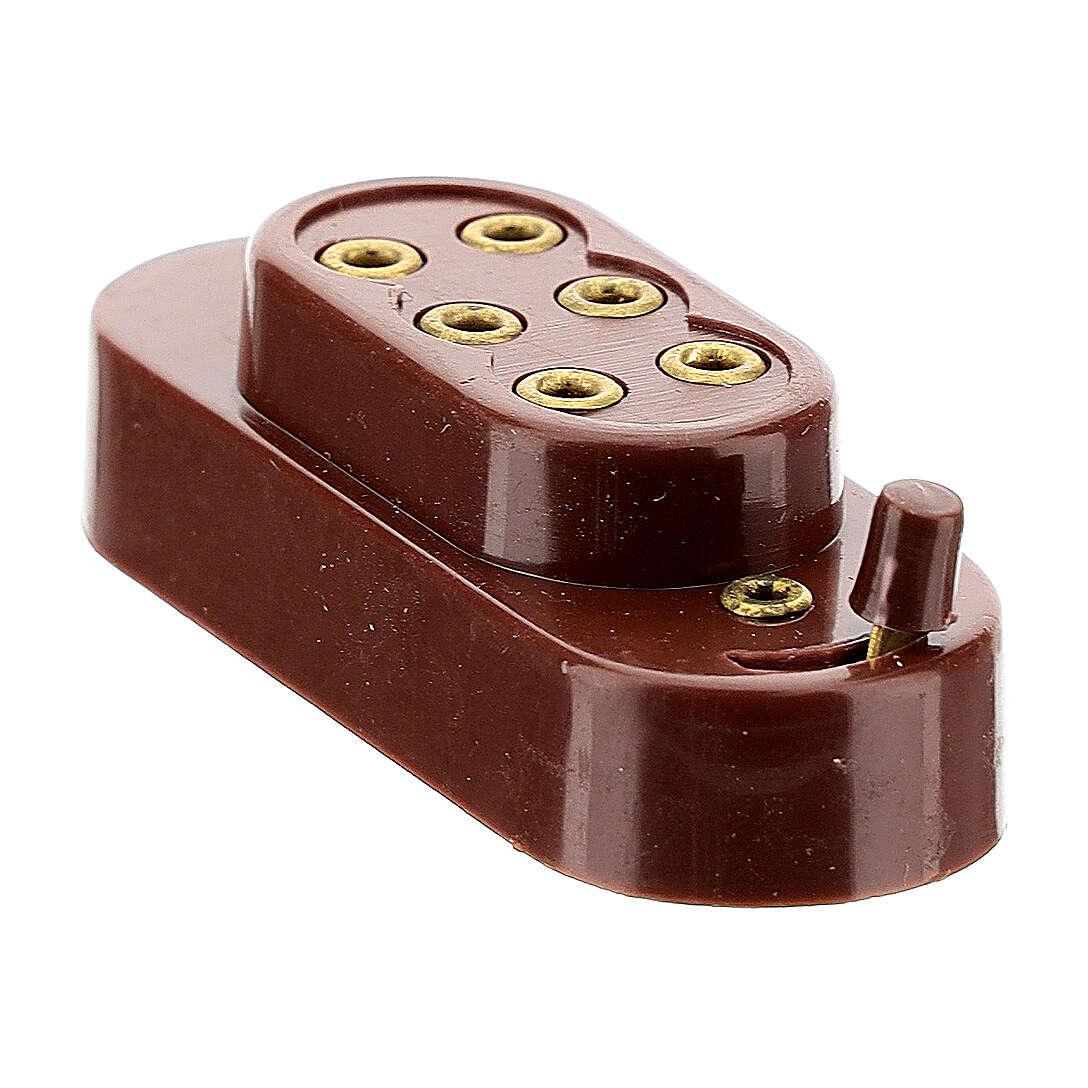 Capucha para baterías 3,5 y 4,5 V 4