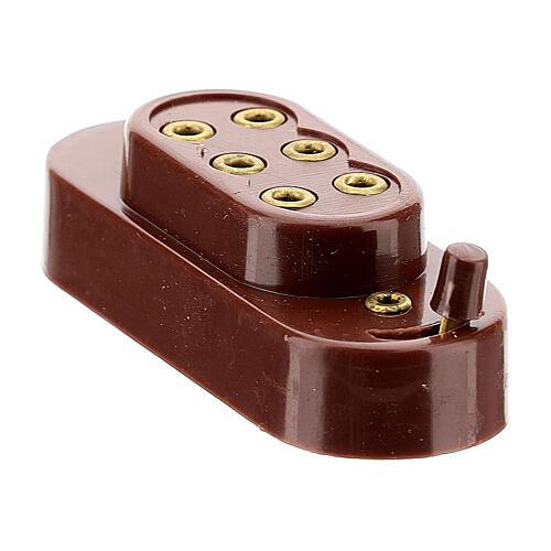 Capucha para baterías 3,5 y 4,5 V 2