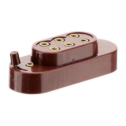 Capucha para baterías 3,5 y 4,5 V 3