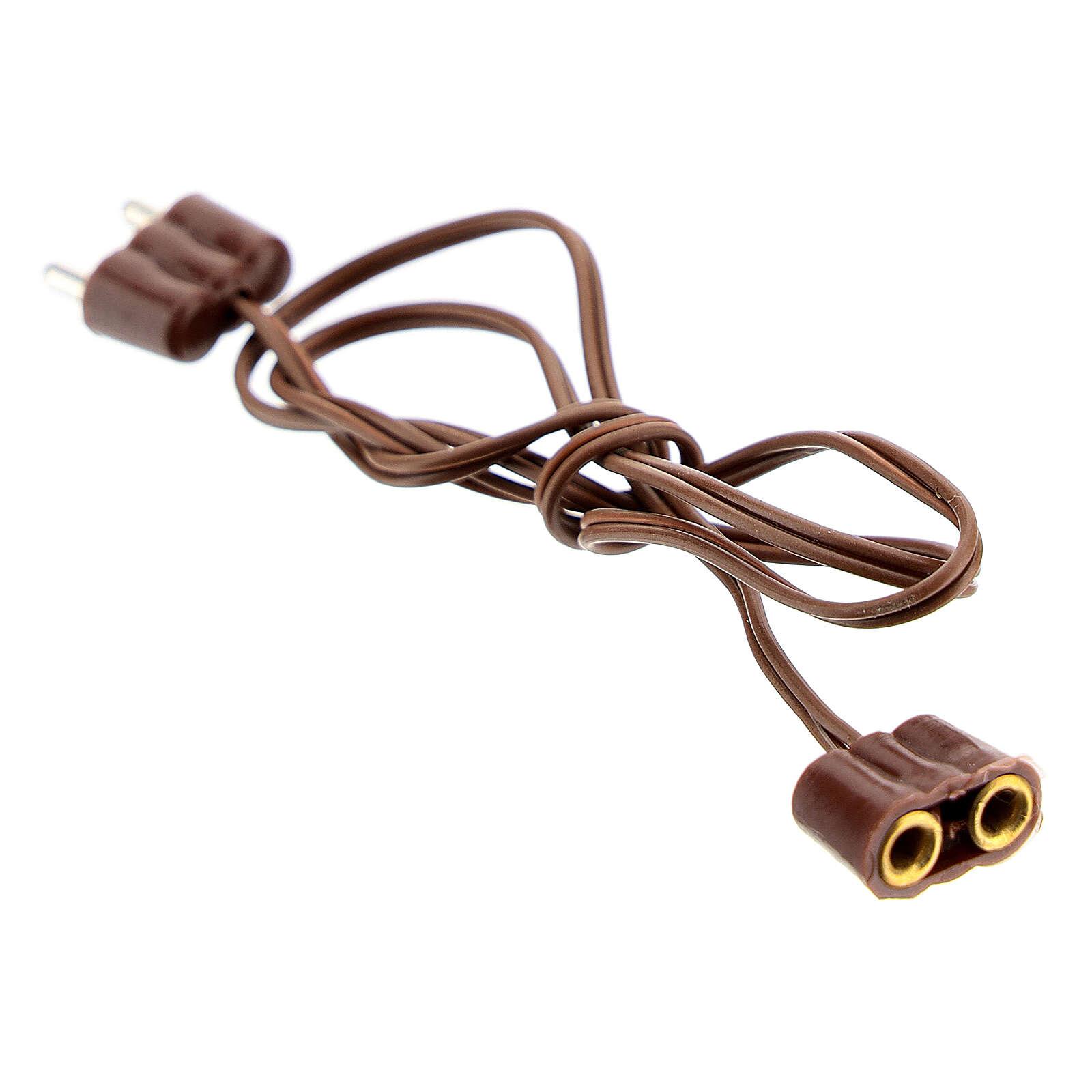Prolonge à bas voltage crèche Noel 4