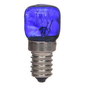 Nativity lights and lamps: LED light, blue, E14, 15W, 220V