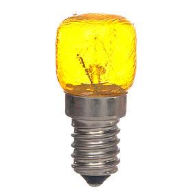 Bombilla E14 amarilla 15W 220V s1