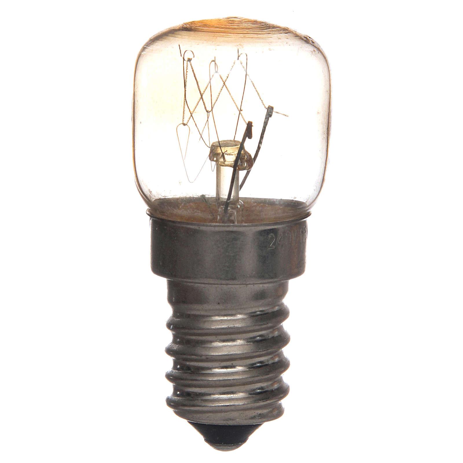 Ampoule E14 transparente 15w 220v 4