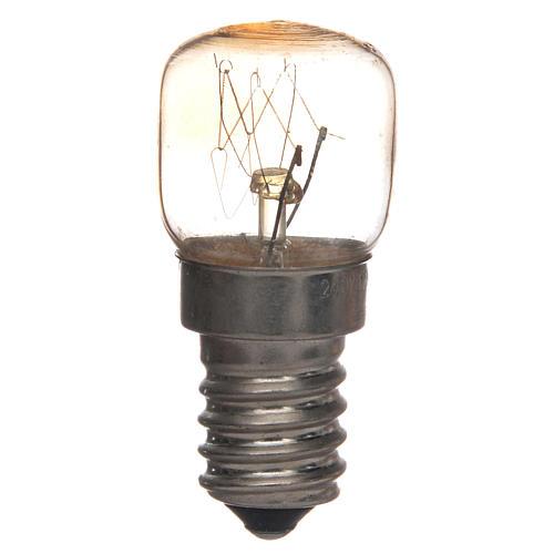 Ampoule E14 transparente 15w 220v 1