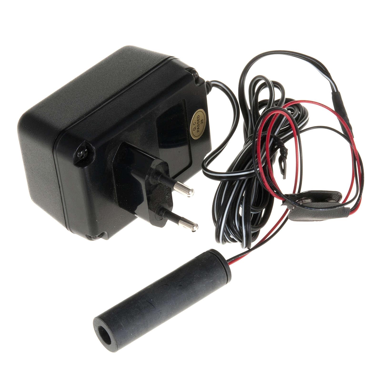 Fibra ottica presepe: generatore luce fissa 4