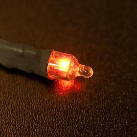 Luce rossa al neon mod. pisello mignon s2