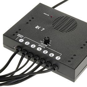 Controladores para el Belén: Circuito de control  con 7 sonidos