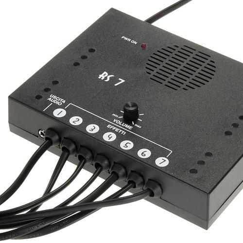 Central de reproduction sonore 7 sons crèche 1