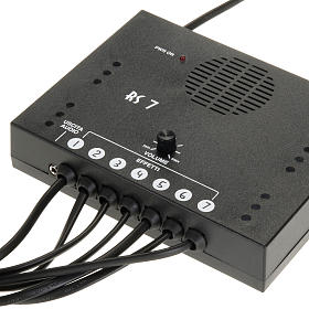 Control Unit with reproduction of 7 sounds s1