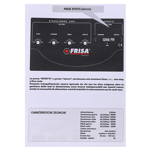 Control para las luces y efectos para el pesebre 5
