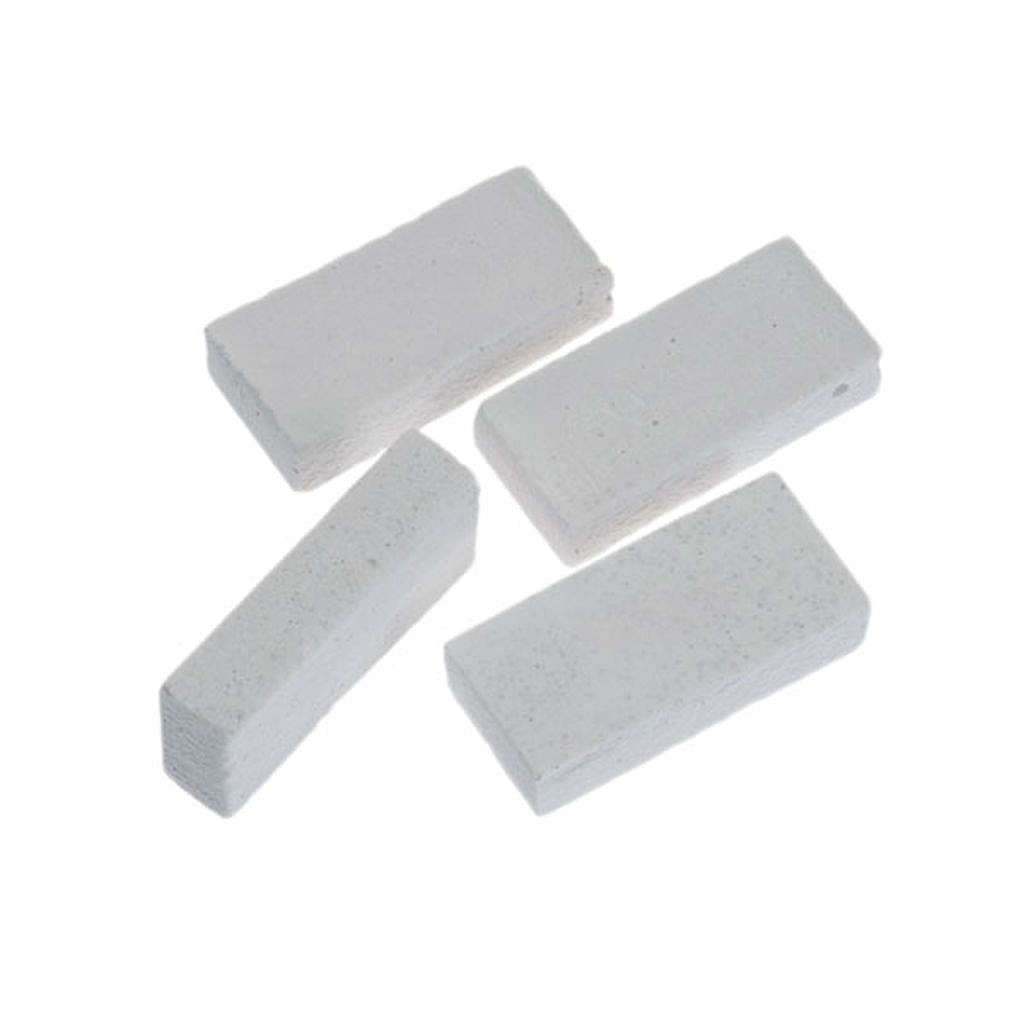Nativity accessory, white resin bricks 8pcs, do-it-yourself nati 4