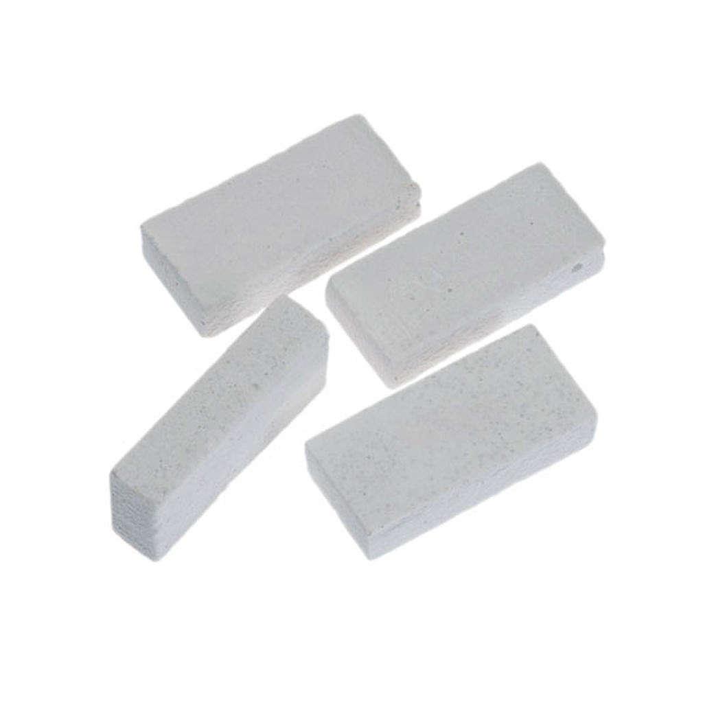 Mattoncini bianchi resina presepe fai da te 8 pz. 4