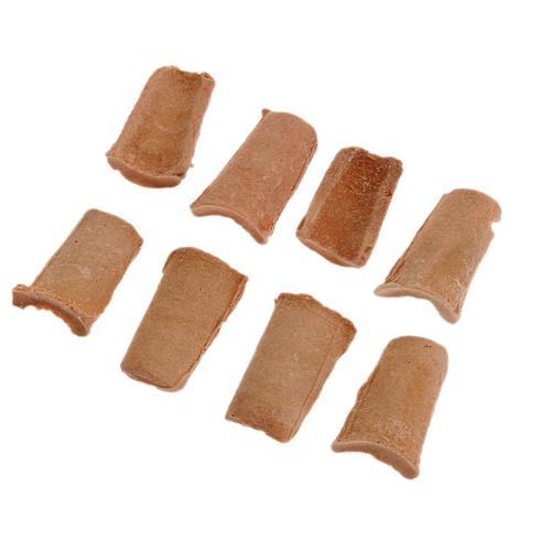 Tegole resina presepe fai da te 60 pz. 1