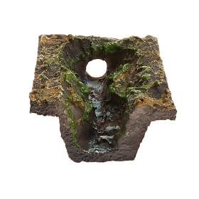 Ruisseau crèche de noël 10.5x3x2.5 cm s2