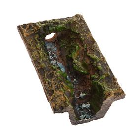 Nativity accessory, stream 10,5x3x2,5 cm s1