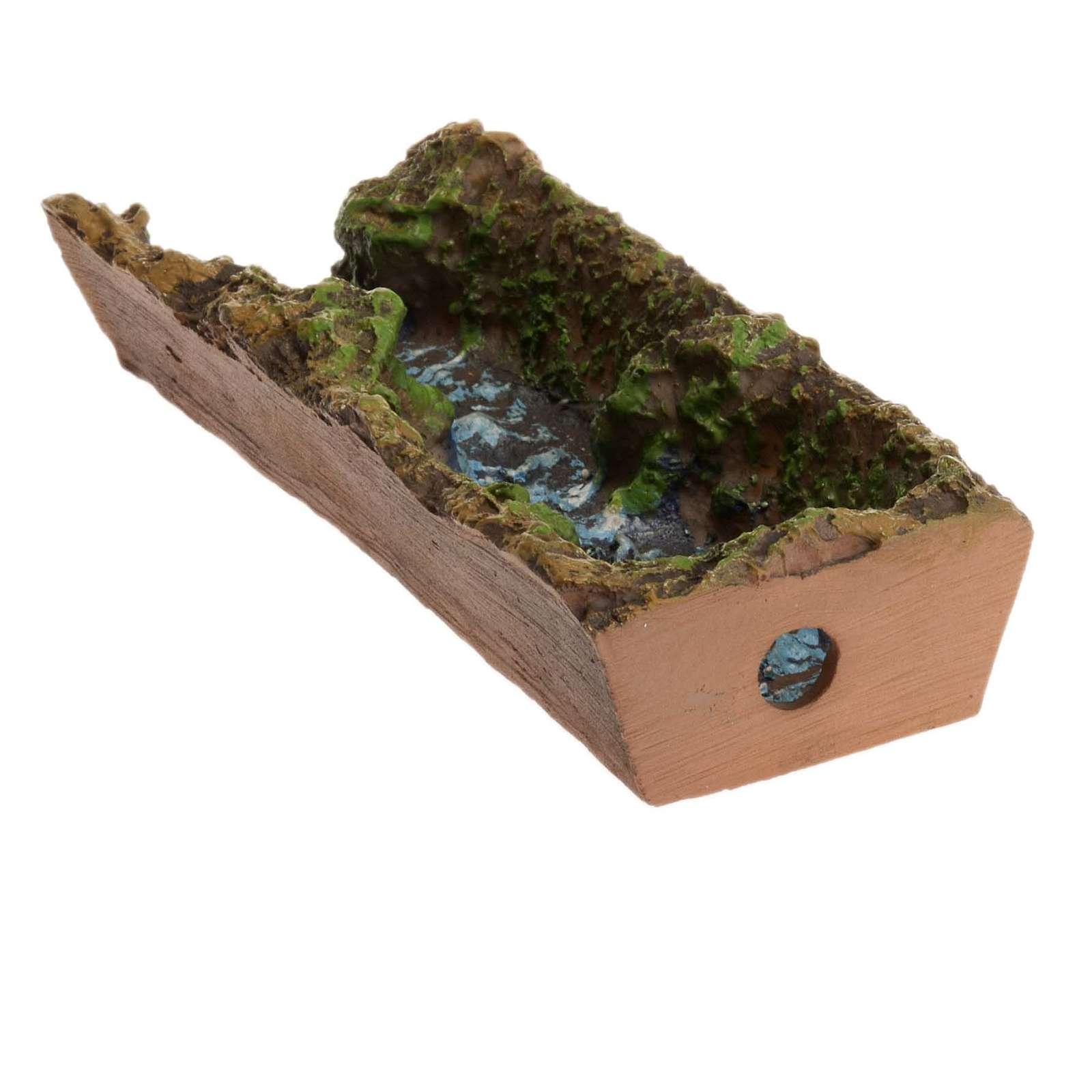 Ruscello presepe 17,5x5x3 cm 4